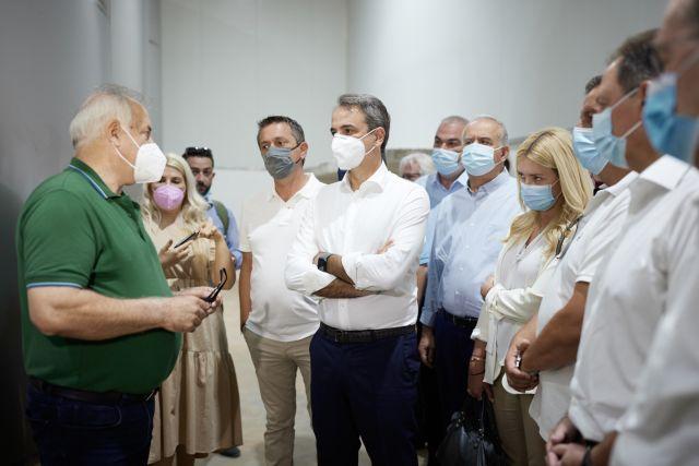 Περιοδεία Μητσοτάκη στη Μεσσηνία: Να συνδέσουμε τον πρωτογενή τομέα με την ανάπτυξη της περιοχής