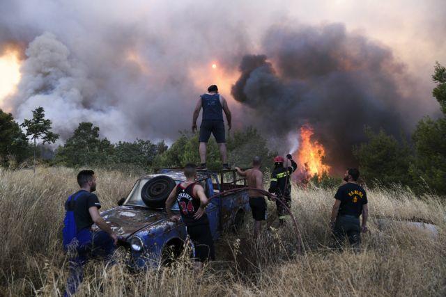 Χαρδαλιάς – Κάηκαν 94 σπίτια και έγιναν 442 διασώσεις στην Βαρυμπόμπη – Στις φλόγες 12.500 στρέμματα